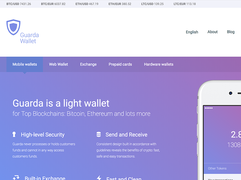 Guarda Crypto Wallet